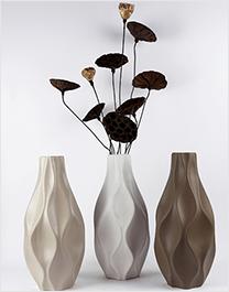 铁艺金属合金工艺品 阑珊 花器